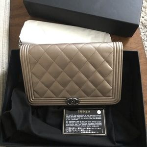 Chanel WOC with tags